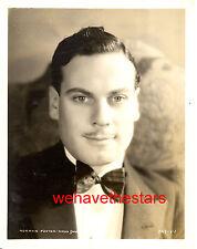 Vintage Norman Foster QUITE HANDSOME '31 MGM Publicity Portrait
