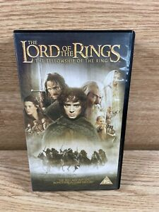 The Lords Of The Rings - The Fellowship Of The Ring - VHS Video New And Sealed