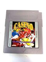 RARE! Casino Fun Pak NINTENDO GAMEBOY ORIGINAL Game Tested + Working!