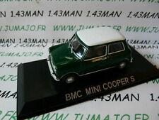 BAL75 Voiture 1/43 Ist déagostini Roumanie : BMC Mini Morris cooper S  verte