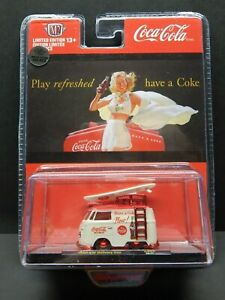 M2 BB02 1/64 scale 1960 VW Bus Kombi Delivery Coca Cola 1 of 750 CHASE MIB VHTF