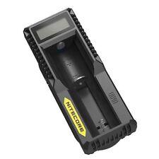 New Nitecore UM10 Digital Smart Charger 18650 17650 17670 RCR123A 16340 14500