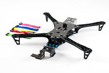 Pre-cut Carbon Fiber Quad-copter, multi-rotor frame for DJI F450 & F550 TBS, HJ