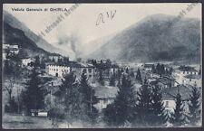 VARESE VALGANNA 21 GHIRLA Cartolina viaggiata 1922