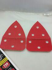(C)  Diablo Set of 2 120 Grits Mouse Sanding Sheets