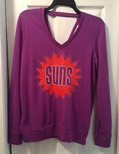 Touch by Alyssa Milano Women's Purple Phoenix Suns Sweatshirt - Size M