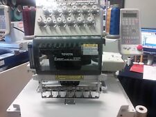 TOYOTA AD850 12 Needle Commercial Embroidery Machine w/270 cap system