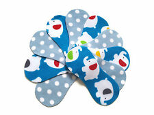 Fleece Nappy Liners Reusable & Washable For Cloth Nappies x 10