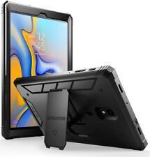 for Galaxy Tab a 10.5 Case Poetic Revolution Series Heavy Duty TPU Cover Black