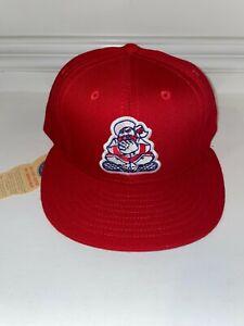 NWT Ebbets Field Flannels MILB EDMONTON TRAPPERS Cap Hat 7 3/8 USA