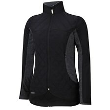 Adidas Women Tour Mixed Media Padded Jacket (S) Z98464 Black