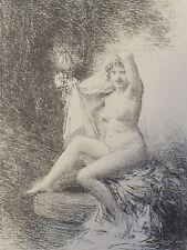 """Henri FANTIN LATOUR 1900 Lithographie originale """"Vérité"""""""