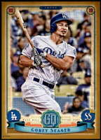 Corey Seager 2019 Topps Gypsy Queen 5x7 Gold #174 /10 Dodgers