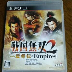 PS3 Sengoku Musou 2 with Moushouden & Empires HD 52132 From Japan