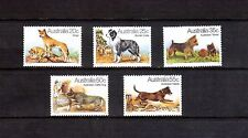 AUSTRALIA 1980 Dogs set MUH