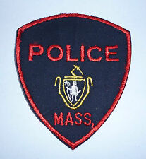 """OBSOLETE US POLICE PATCH  """"MASS"""""""