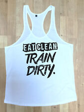 MMA Gym Bodybuilding Motivation Vest Best Workout Clothing Training Train Dirty