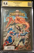 Contest Of Champions #2 Ken Bald GWR Variant Cover CGC 9.4 signed Tom Palmer