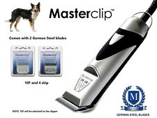 Border Collie Cane Professionale Clippers Trimmer Set con 2 lame da Masterclip