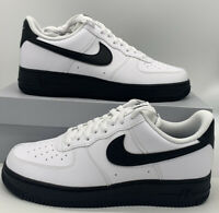 Nike Air Force 1 Low '07 Mens Casual Shoes CK7663-101 White Black