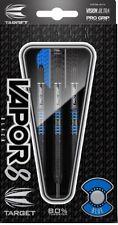 Target Vapor-8 Black Blue 80% Tungsten 24 gram Steel Tip Darts - 100438