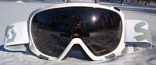 NEW $110 Scott FIX Mens Gloss Winter White Snow Ski goggles smith uvex Grey