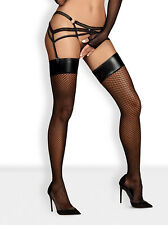 OBSESSIVE Darkie Luxury Super Soft Fishnet Stockings