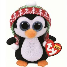 Ty Beanie Babies 37239 Boos Penelope the Christmas Penguin Boo