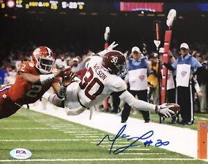 Mack Wilson Signed Autographed Cleveland Browns 8x10 Photo Alabama Psa/Dna