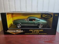 Ertl American Muscle 1967 Ford Mustang Shelby GT-350 1:18 Scale Diecast '67 Car
