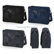 Quadra Portfolio Briefcase Bag Business Pro Shoulder Office Messenger (QD65)