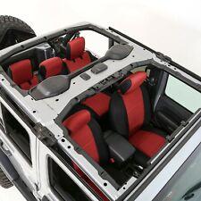 Smittybilt 47630 Neoprene Red Rear Seat Cover