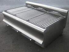 Glühsteingrill Lavasteingrill 37,5kW, Bautiefe 90 Gasgrill : Maße 1100x900x320