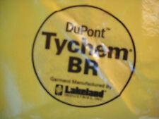 Dupont Tychem Br Hazmat Suit Large Yellow