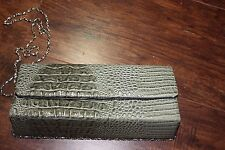 Expressions NYC Purse ~ Evening bag ~ Clutch faux crocodile