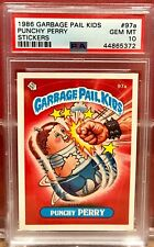 1986 GARBAGE PAIL KIDS PSA 10 #97A PUNCHY PERRY GEM MINT 10
