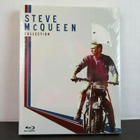 Steve McQueen 4 Blu Ray Disc Collection - ENW - Great Escape / Sand Pebbles…
