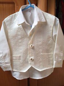 toddler boys clothes 3 Piece Suit. Age 2