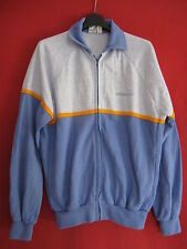 Veste Vintage Adidas Femme acrylique Made in France Survetement ancien 80'S - 40