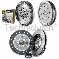 NATIONWIDE 3 PART CLUTCH KIT AND LUK DMF FOR AUDI A3 HATCHBACK 2.0 FSI