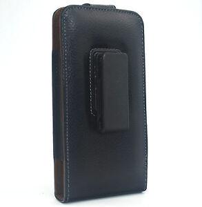 Black Genuine Leather Case Belt Clip Holster for apple iphone 7 PLUS 6s plus 7 6