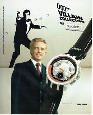 Swatch '007 Villain Collection' - Max Zorin From 'View To A Kill' YRS411 Watch