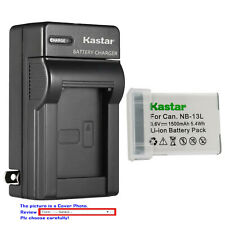 Kastar Battery AC Wall Charger for Canon NB-13L CB-2LH Canon PowerShot SX720 HS