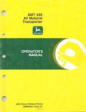 John Deere AMT 626 Utility Vehicle Operators Manual OMM96681