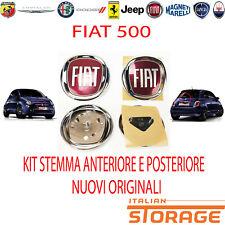 500 Von 2007 Set Logo Emblem Vorne und Hinten Neu Herkunft 51932710