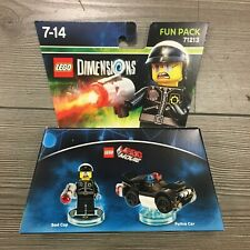 Toy Tag für Bad Cop LEGO Dimensions Toytag Disc Movie 18603 6122891 71213