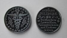 e God bless nurses nurse love compassion kindness POCKET TOKEN CHARM caregiver