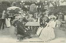 France social history carte d`autrefois St. Avertin restaurant Fouqueux