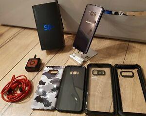 Samsung Galaxy S8+ SM-G955 - 64GB - Coral Blue (THREE ) Smartphone