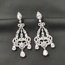 f6b4fbb0a9f1d Cubic Zirconia Rhodium Chandelier Stone Fashion Earrings for sale | eBay